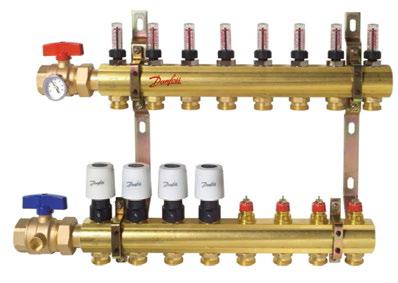 משאבת מים להפעלת מערכת חימום רצפתי על בסיס מים