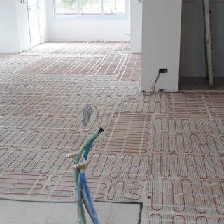 התקנת חימום תת רצפתי על בסיס חשמל בכפר ויתקין