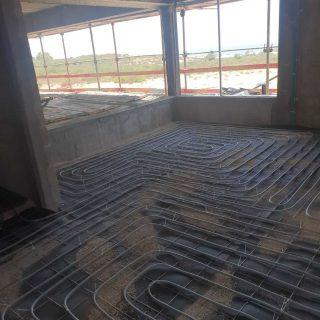 התקנת חימום תת רצפתי על בסיס מים באשדוד