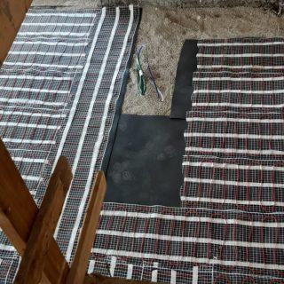 מערכת חימום תת רצפתי על שטח של 138 מ