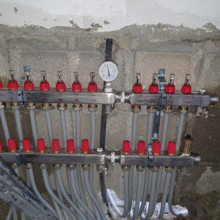התקנת חימום תת רצפתי על בסיס מים באליקים